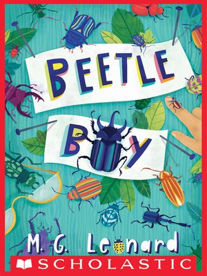 cover image of Beetle Boy (Beetle Trilogy, Book 1)