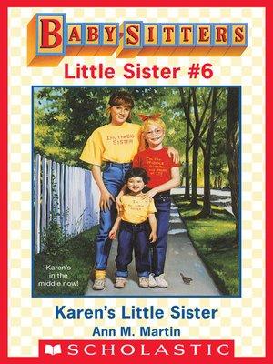 cover image of Karen's Little Sister