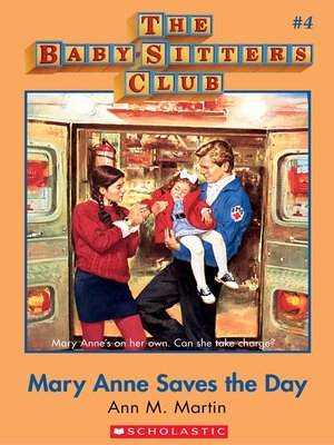 cover image of Mary Anne Saves the Day
