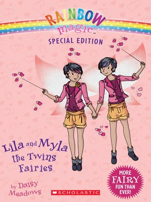 cover image of Lila and Myla the Twins Fairies