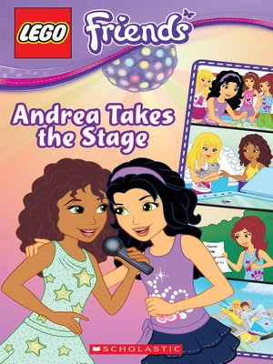 cover image of Andrea Takes the Stage