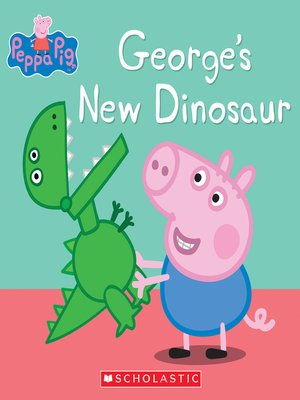 cover image of George's New Dinosaur