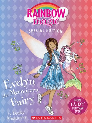 cover image of Evelyn the Mermicorn Fairy