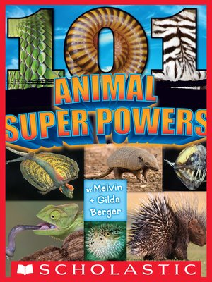 cover image of 101 Animal Super Powers