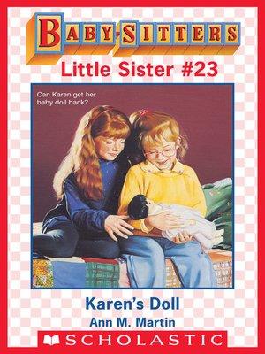 cover image of Karen's Doll