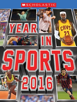 cover image of Scholastic Year in Sports 2016