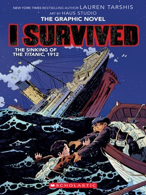 cover image of I Survived the Sinking of the Titanic, 1912
