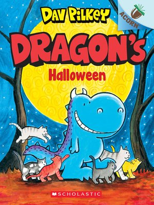 cover image of Dragon's Halloween