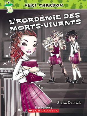 cover image of L'acadédmie des morts-vivants