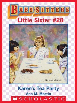 cover image of Karen's Tea Party