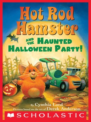 cover image of Hot Rod Hamster and the Haunted Halloween Party!