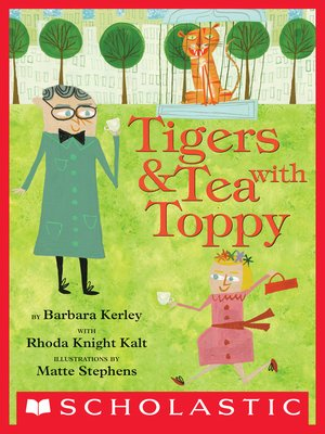 cover image of Tigers & Tea With Toppy