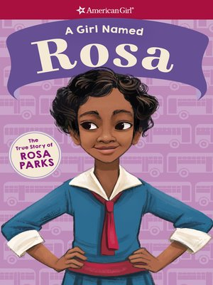 cover image of A Girl Named Rosa
