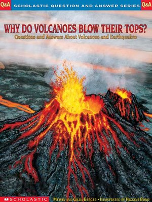 cover image of Why Do Volcanoes Blow Their Tops?