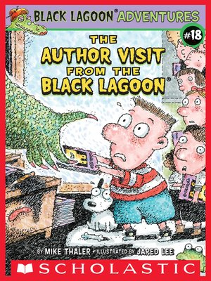 cover image of The Author Visit from the Black Lagoon