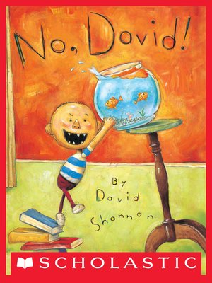 cover image of No, David!