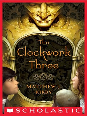 cover image of The Clockwork Three