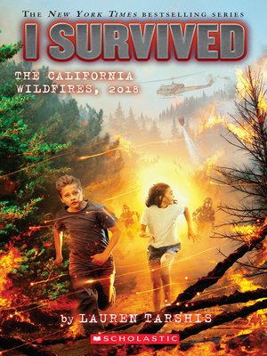 cover image of I Survived the California Wildfires, 2018