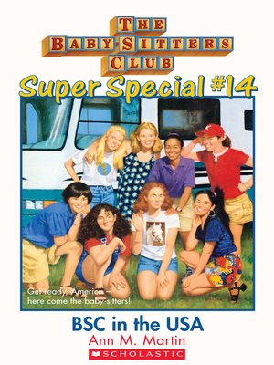 cover image of Baby-Sitters Club in the U.S.A.