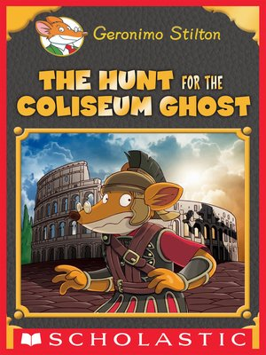 cover image of The Hunt for the Colosseum Ghost