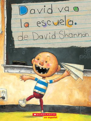 cover image of David va a la escuela (David Goes to School)