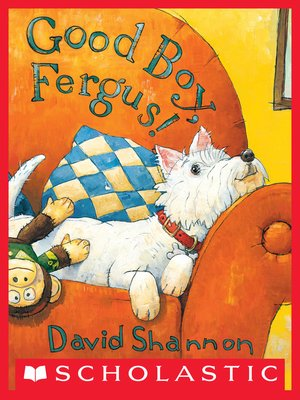 cover image of Good Boy, Fergus!