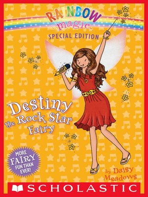cover image of Destiny the Rock Star Fairy