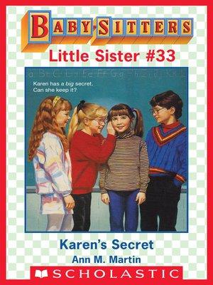 cover image of Karen's Secret