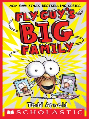 cover image of Fly Guy's Big Family