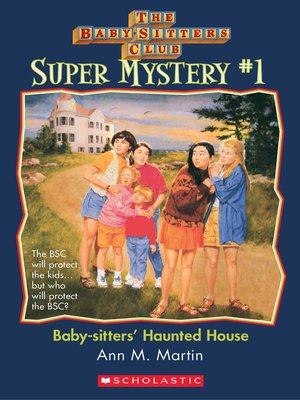 cover image of Baby-Sitters' Haunted House
