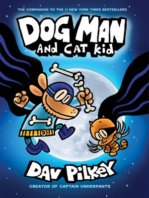 cover image of Dog Man and Cat Kid