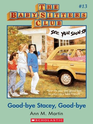 cover image of Good-Bye Stacey, Good-Bye