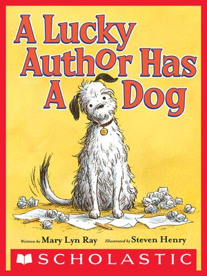 cover image of A Lucky Author Has a Dog
