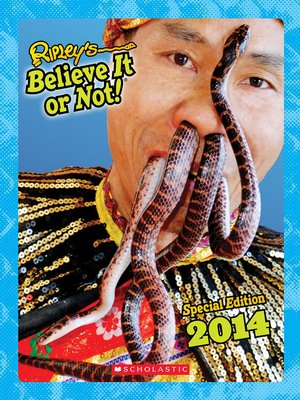 cover image of Ripley's Special Edition 2014
