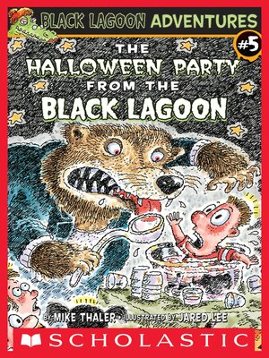 cover image of The Halloween Party From the Black Lagoon