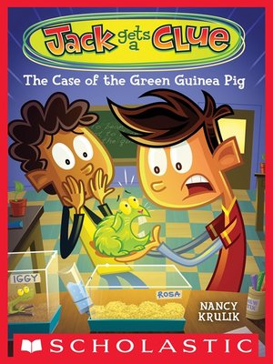 cover image of The Case of the Green Guinea Pig
