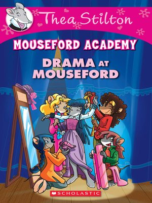 cover image of Drama at Mouseford