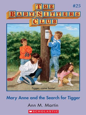 cover image of Mary Anne and the Search for Tigger