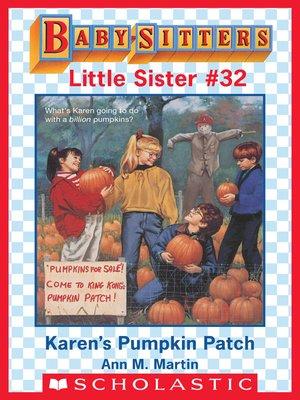 cover image of Karen's Pumpkin Patch