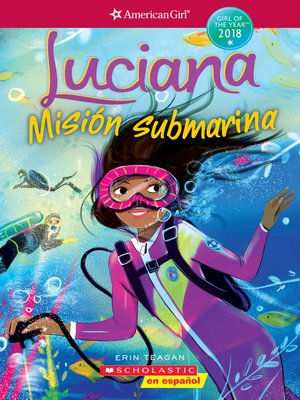 cover image of Luciana: Misión submarina (Braving the Deep)