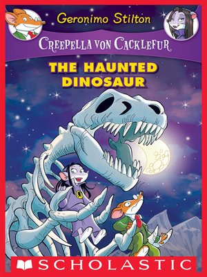 cover image of The Haunted Dinosaur