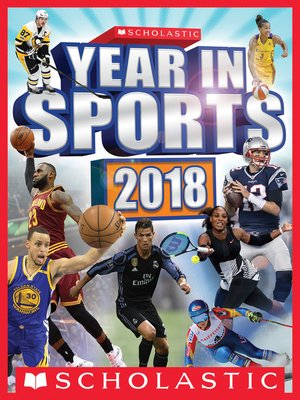 cover image of Scholastic Year in Sports 2018