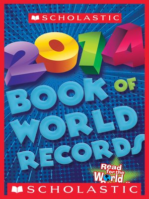 cover image of Scholastic Book of World Records 2014