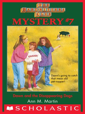 cover image of Dawn and the Disappearing Dogs