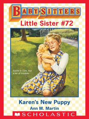 cover image of Karen's New Puppy