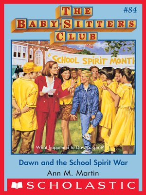 cover image of Dawn and the School Spirit War