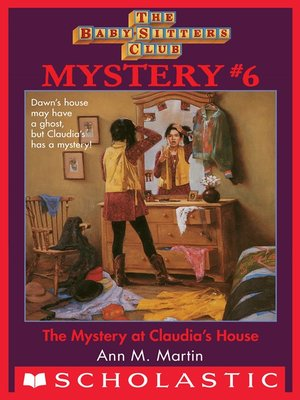 cover image of Mystery at Claudia's House