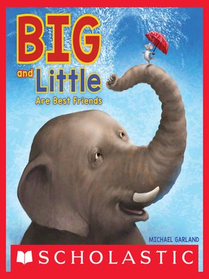cover image of Big and Little Are Best Friends