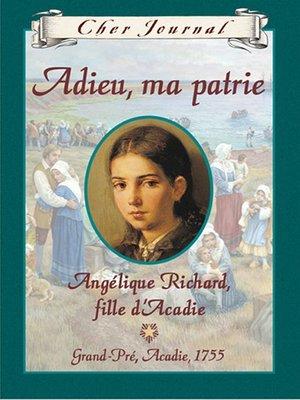 cover image of Adieu, ma patrie