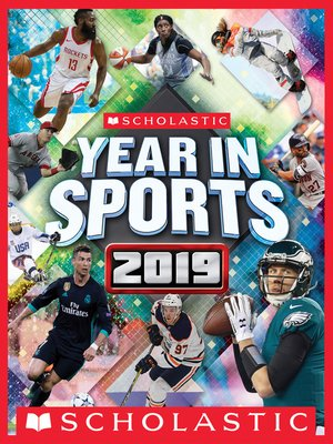 cover image of Scholastic Year in Sports 2019